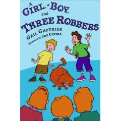 A Girl, A Boy and Three Robbers